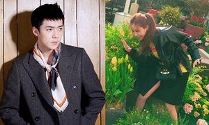 Sao Hàn 27/3: Se Hun cắt tóc ngắn nam tính, Hyo Min tạo dáng chọc cười