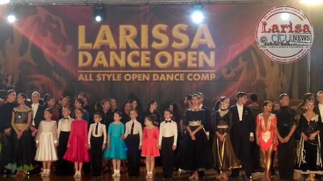 Η μοναδική διοργάνωση του Διεθνή Διαγωνισμού Αθλητικού Χορού LARISSA DANCE OPEN 2017 κατέπληξε το κοινό της Λάρισας (ΦΩΤΟ-VIDEO)