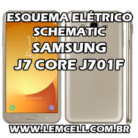 Esquema Elétrico Smartphone Celular Samsung Galaxy J7 Core J701F Manual de Serviço  Service Manual schematic Diagram Cell Phone Smartphone Samsung Galaxy J7 Core J701F Esquematico Smartphone Celular Samsung Galaxy J7 Core J701F