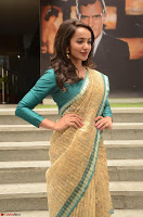 Tejaswi Madivada looks super cute in Saree at V care fund raising event COLORS ~  Exclusive 092.JPG