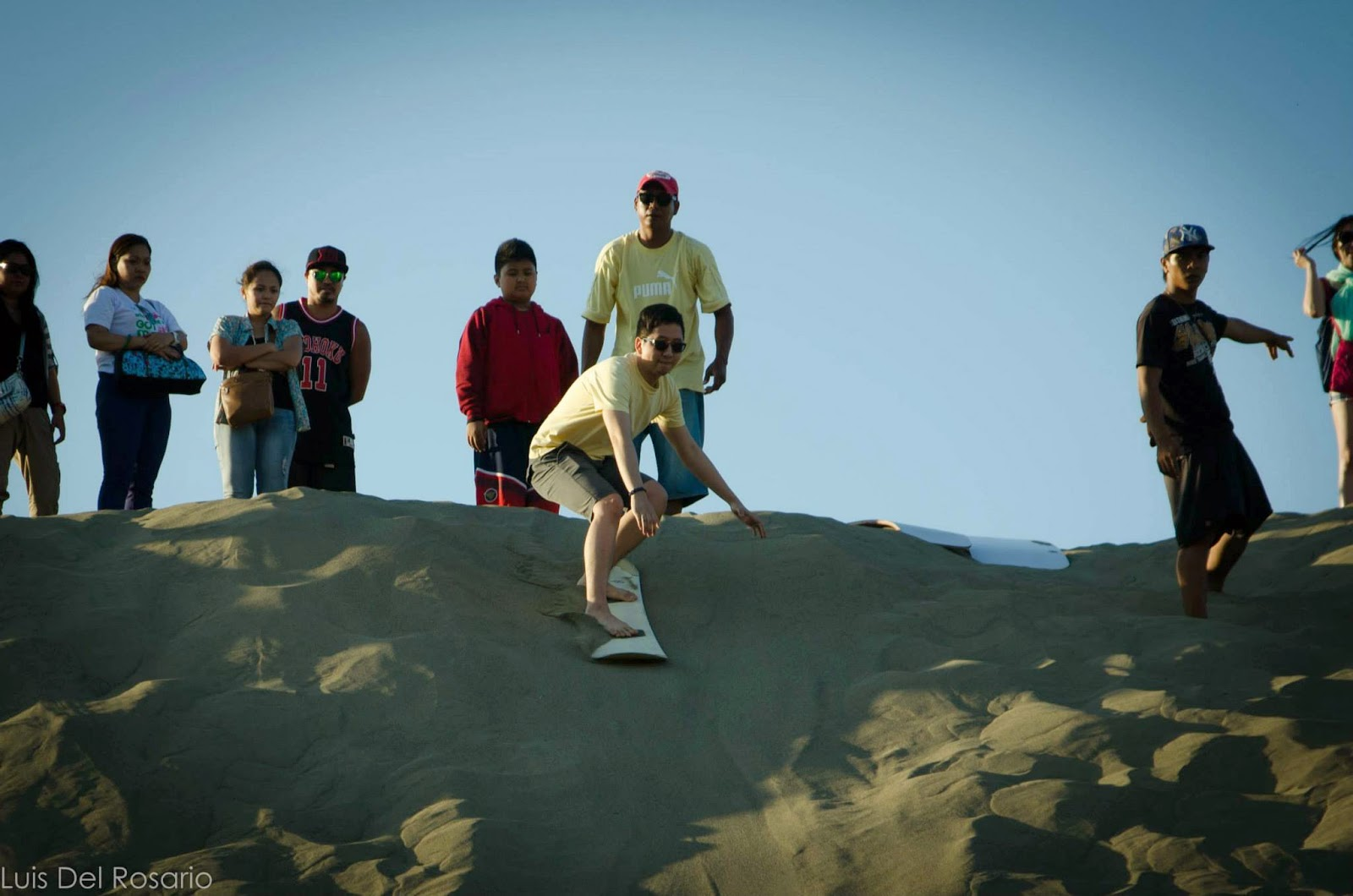 Sand Surfing in the amazing sand dunes of Paoay, Ilocos Norte