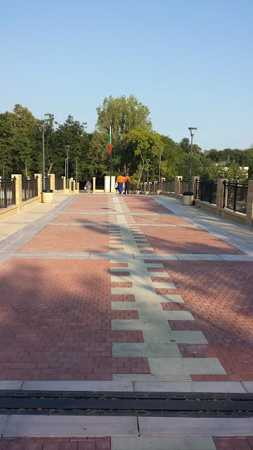 Walk, Yambol City Park, Bridge, Yambol,