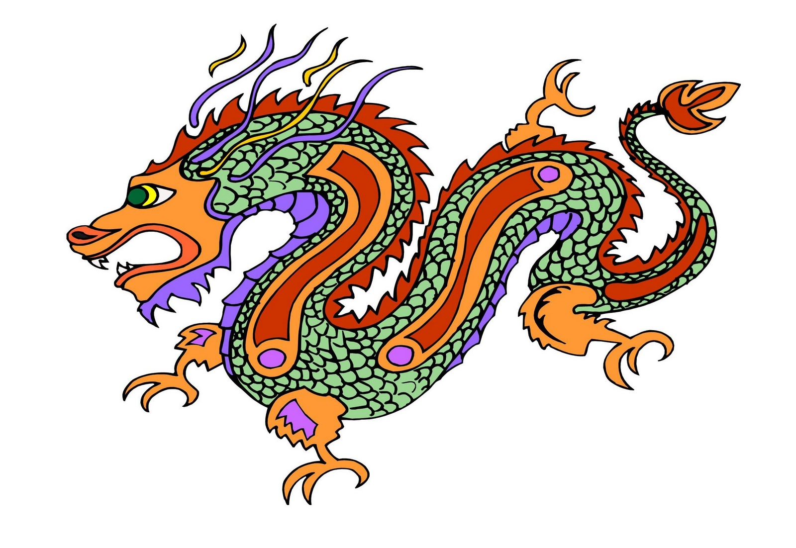 China Dragon: According To BRASWELL: Happy New Year- The Chinese Way