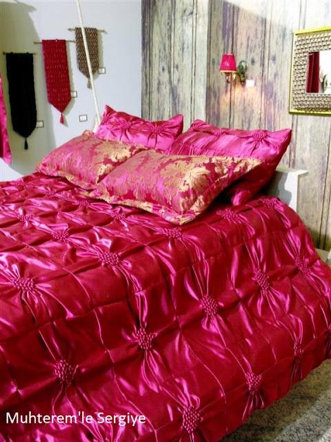 yatak örtüsü modeli