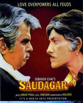 Saudagar 1991 Hindi 480p WEB HDRip 600Mb x264