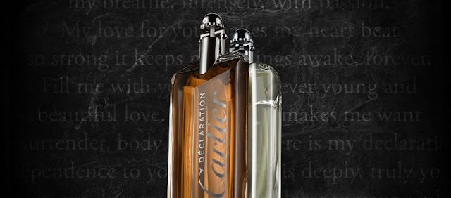 Oficjalna fotografia Cartier Declaration i Declaration Parfum