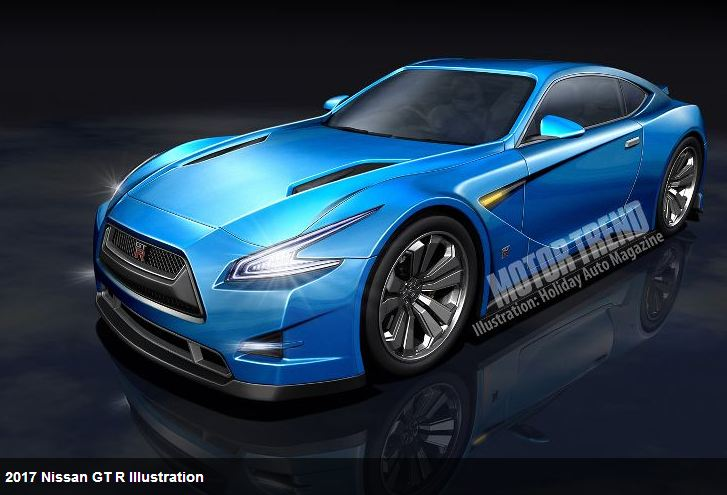 Is This The 2017 R36 Nissan Gt R