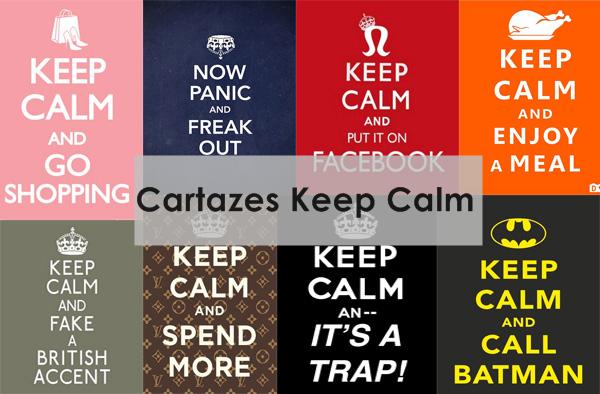 Que Significa Keep Calm: Hipster Girl: Faça Seu Cartaz Keep Calm + Aviso