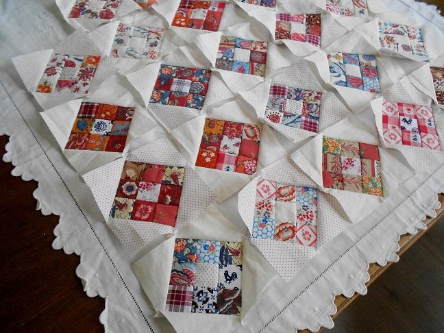 Supergoof quilts ook het zeeuws schortenbont for Quilt maken met naaimachine