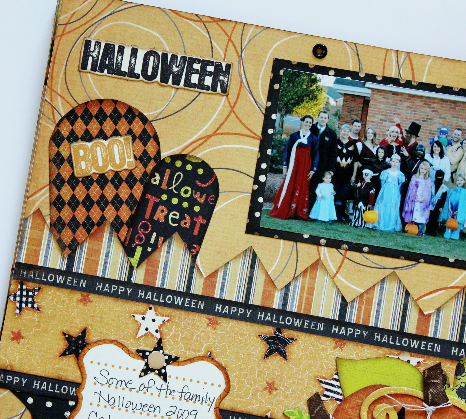 Home Designs October 2012: Kiwi Lane: October Calendar Topper
