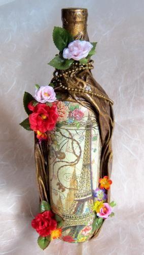 bottle craft work