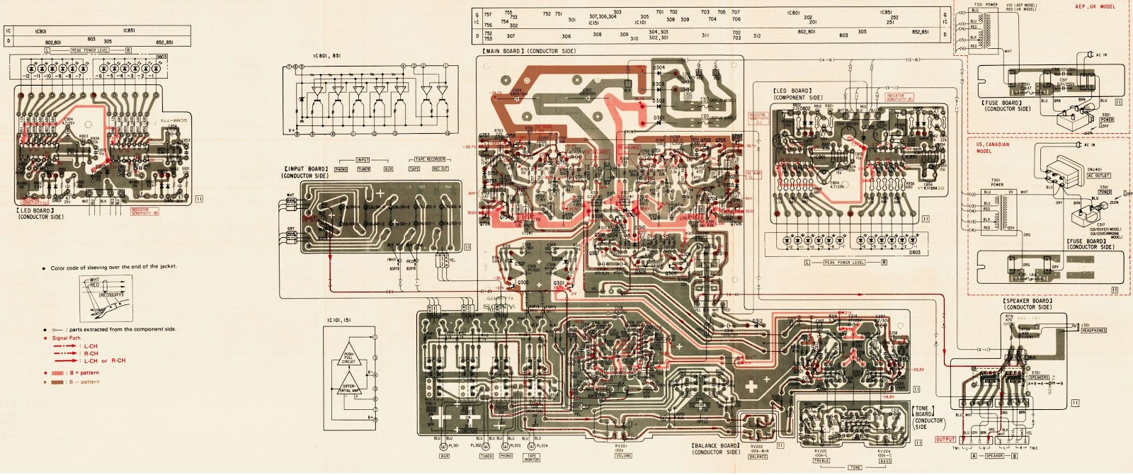 Electrotechnician: Sony TA F30 Integrated Stereo Amplifier  Circuit Diagram and wiring diagram
