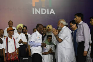"PM Launched ""Fit India Movement"""