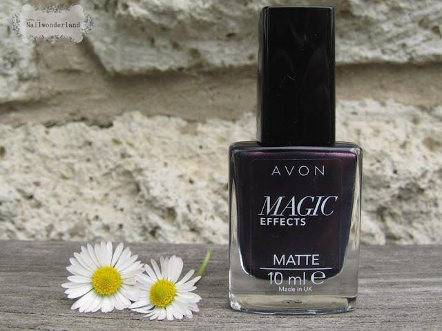 Avon Magic Effects Matte Inky Blue