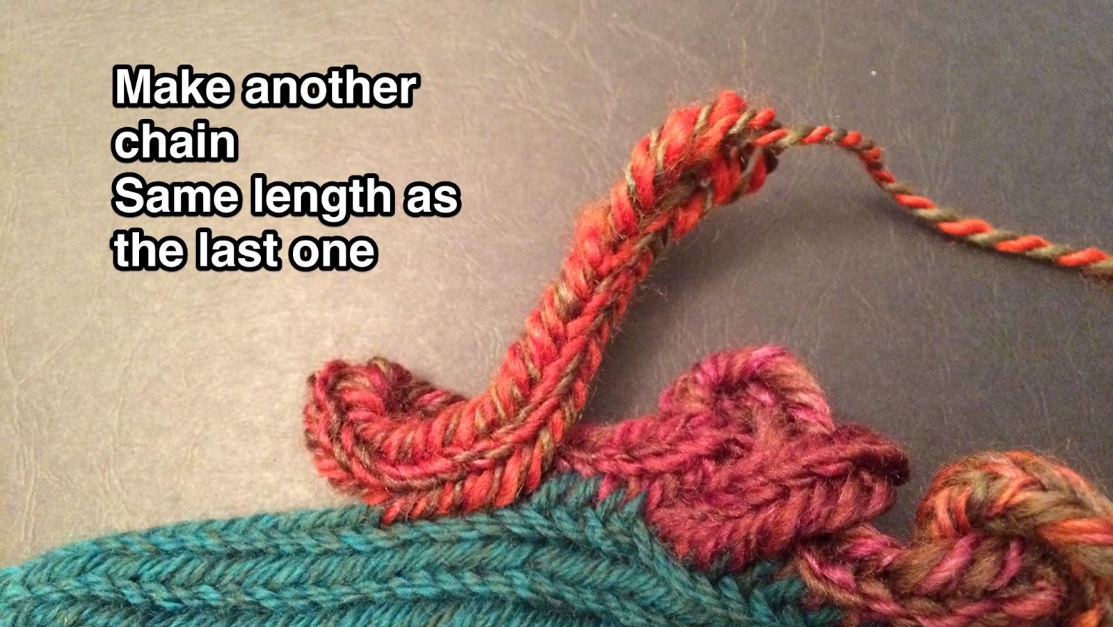 Nalbinding Knotwork Tutorial - Pretzel Knot Part 4