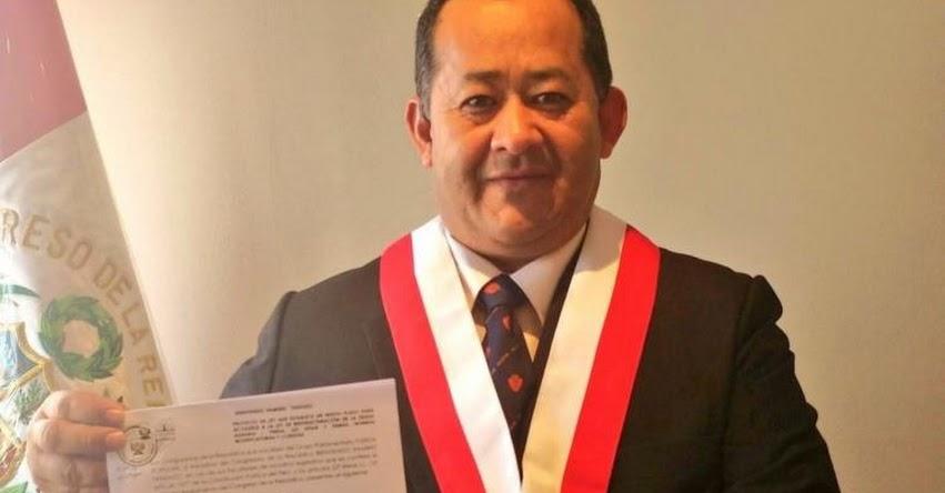 Congresista Fujimorista Bienvenido Ramírez se rectifica de sus expresiones que leer mucho causa alzhéimer