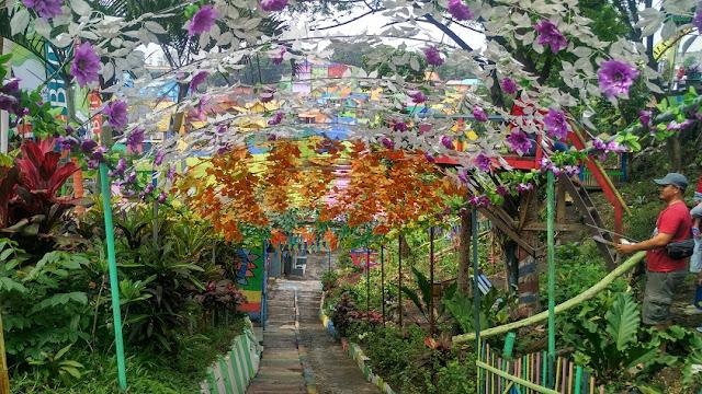 bunga kampung tridi kesatrian malang