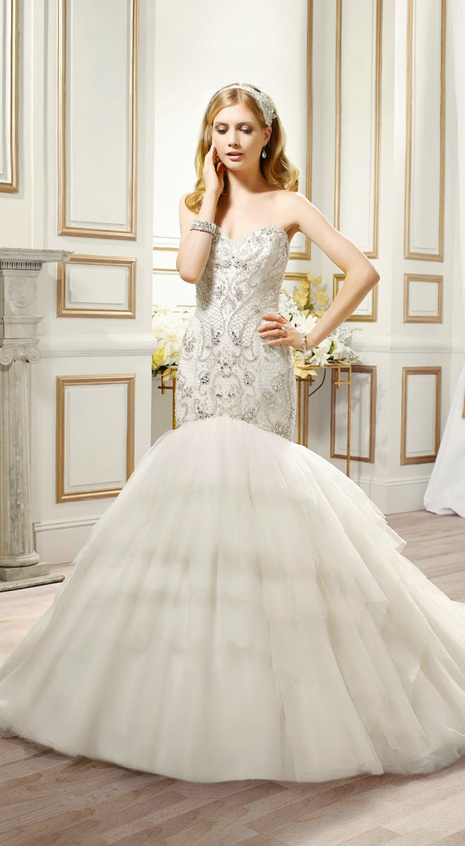 Array Of Wedding Dresses Scroll Down And Expect To See Eye Catching Elements Like Crystal Embellishments Intricate Beading Lace Details Classic