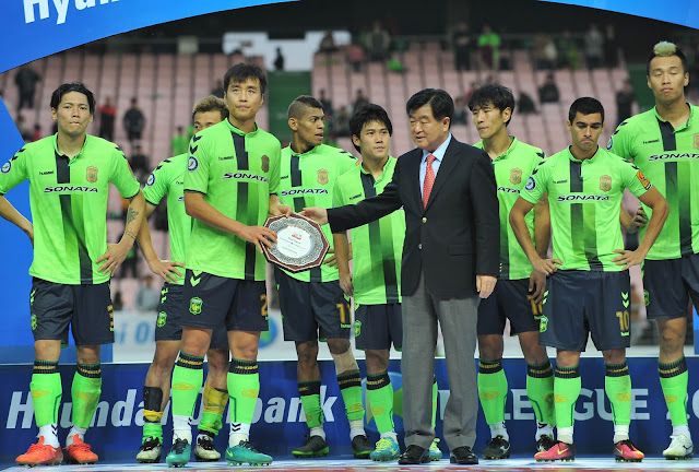 Jeonbuk Hyundai Motors finish runner-up in the 2016 K-League Classic