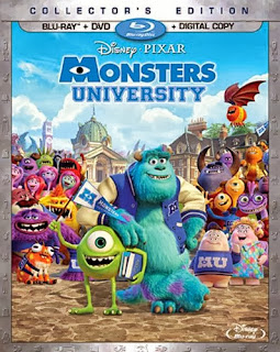 Blur-ray Review - Monsters University