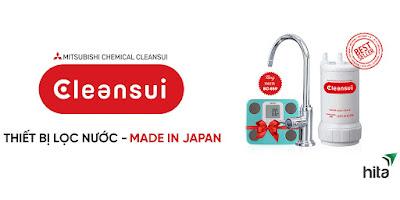 Bảng giá thành máy lọc nước Cleansui Japan tại quận 2