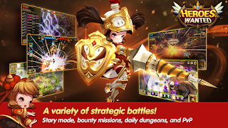 Heroes Wanted Quest RPG Mod Apk v1.3.0.33730 Terbaru