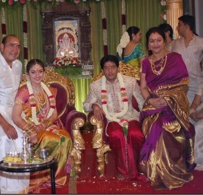 Sridevi Vijaykumar engagement
