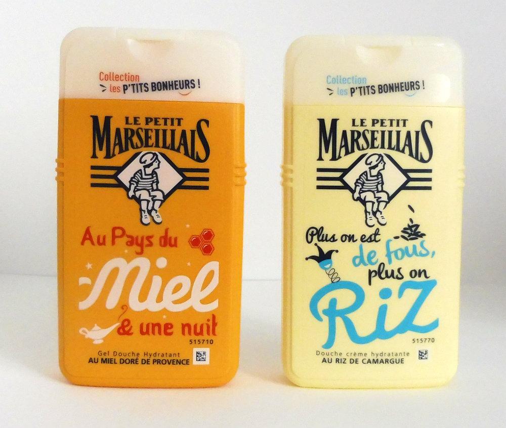 Test des douches Les p'tits bonheurs du Petit Marseillais, alors c'est que du bonheur ? Par Lili LaRochelle