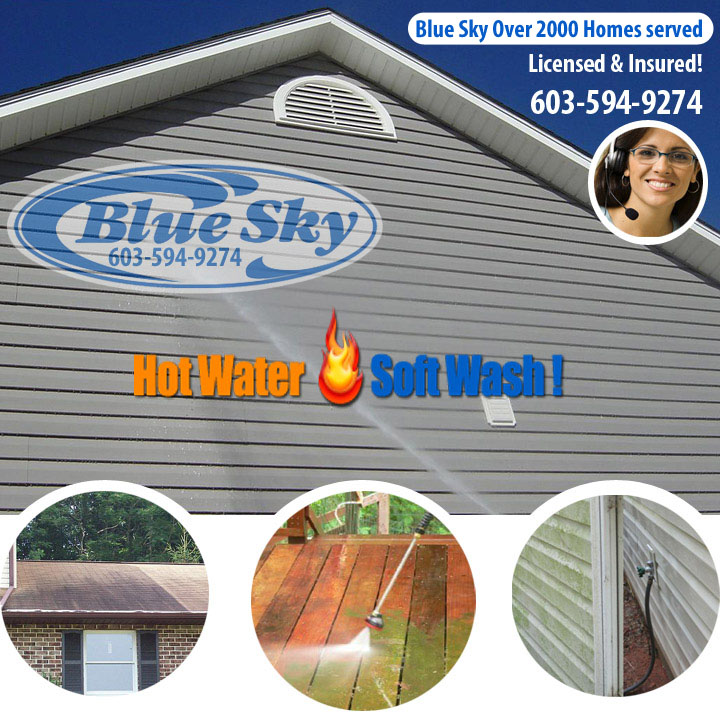 Nh Pressure Washing Service New Hampshires 1 Choice For