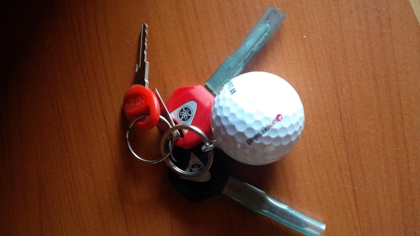 Easy Golf Ball Cake