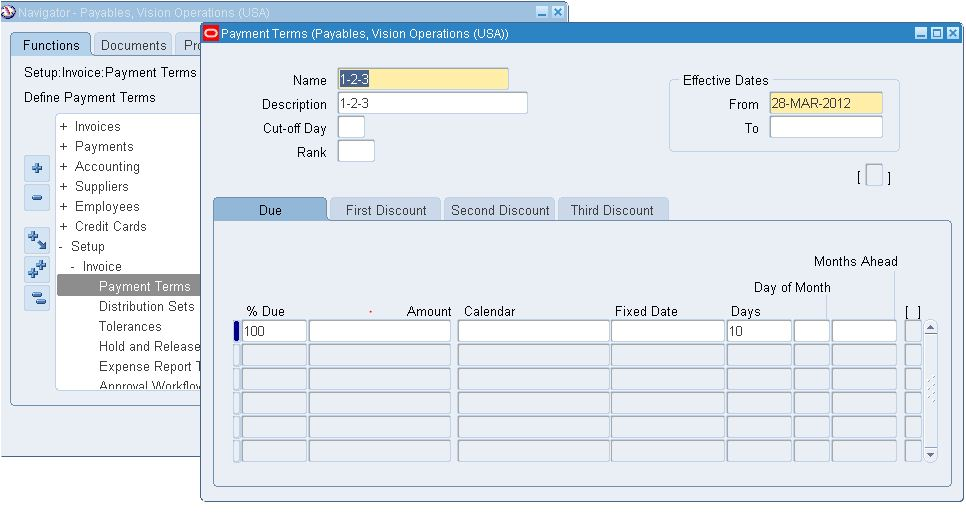 Oracle Apps Knowledge Hub Oracle AP Invoice Setup