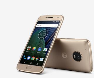 Motorola Moto G5 Plus smartphone with outstanding camera