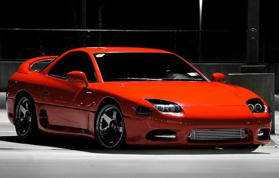 Mitsubishi 3000GT, twinturbo, V6, AWD, japońskie auta, sportowe samochody