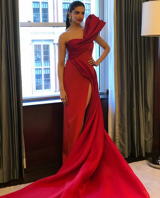 Deepika Padukone Wears Prabal Gurung at Met Gala