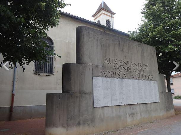 Monument aux morts, quartier de Monplaisir
