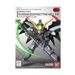 Bandai Gunpla-Gundam SD Ex-Standard 012 Deathscythe Model Kit [09067 0476428]