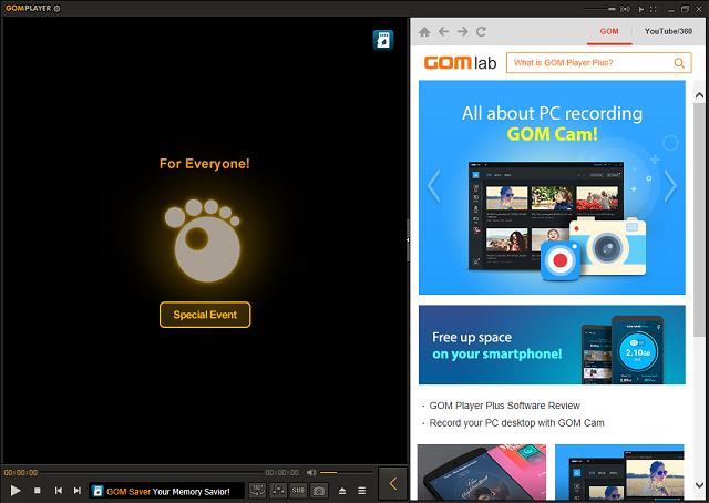 تحميل برنامج تشغيل الصوت والفيديو GOM Player