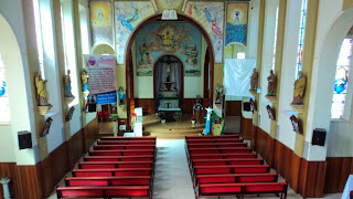 Interior da Igreja Matriz de Bom Retiro