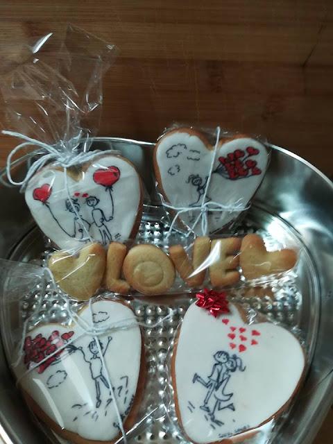 Galletas San Valentìn