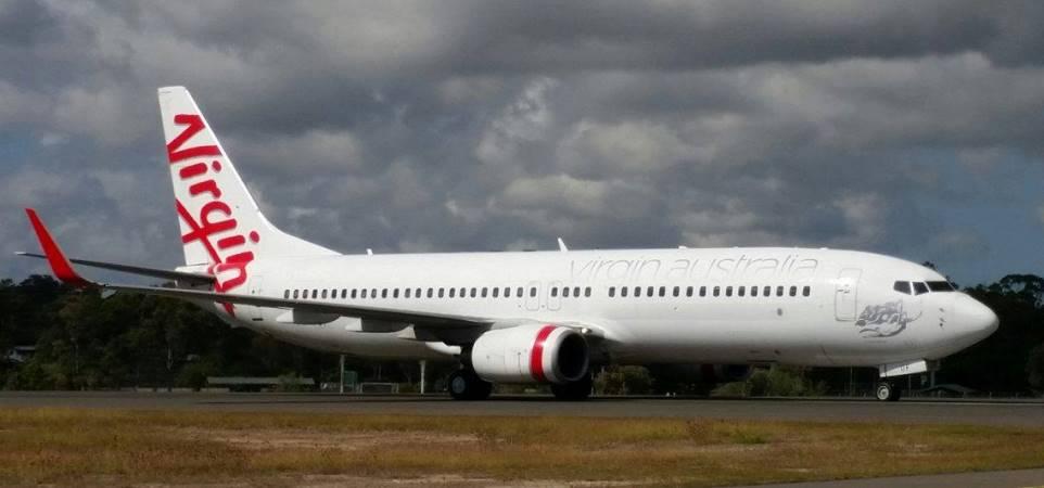 central queensland plane spotting an update on the virgin. Black Bedroom Furniture Sets. Home Design Ideas