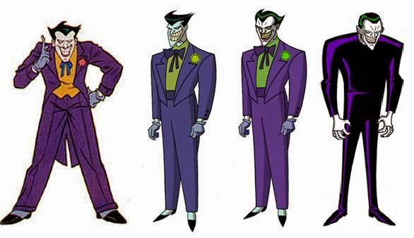 Todas las versiones del Joker en series animadas y películas de animación