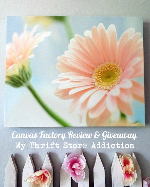 Canvas Factory review and giveaway