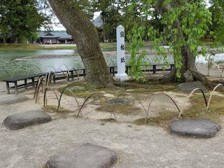 毛越寺鐘楼跡