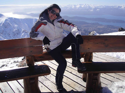 Vanessa Olivatti em Bariloche