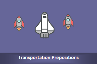 Memahami Transportation Prepositions : By, In, On