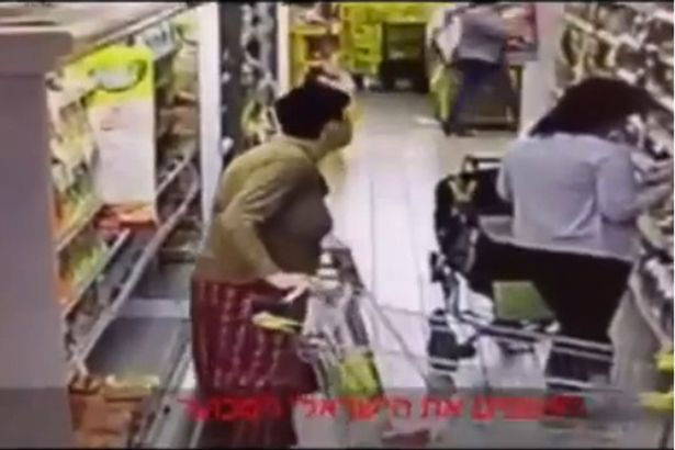 CCTV Camera Catches Woman 'Pooing' In Supermarket Food Display