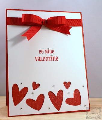 Rocky Mountain Paper Crafts Quick V Day Card