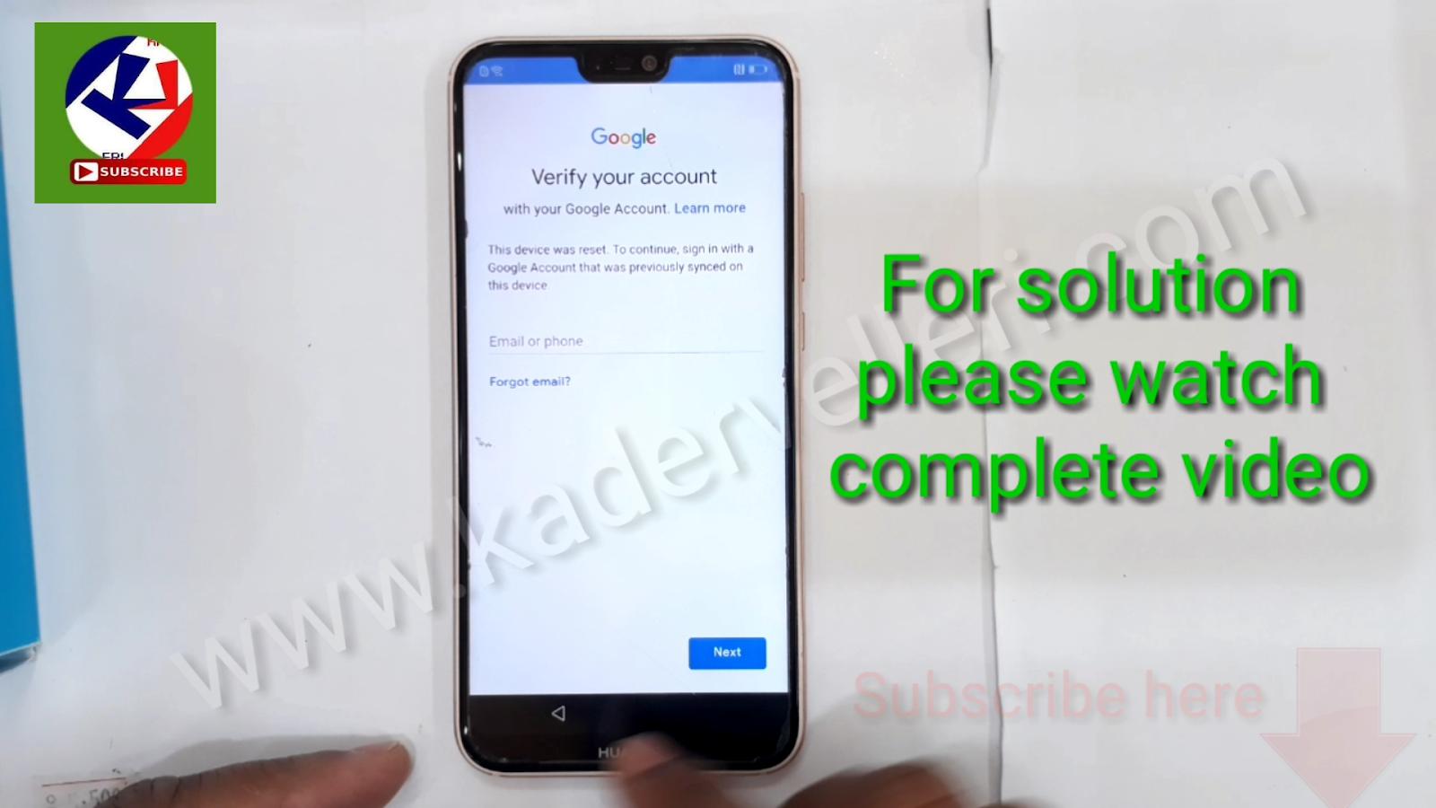 how to bypass google account verification on huawei nova3e /nova3i