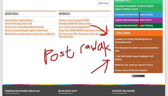 widget post rawak