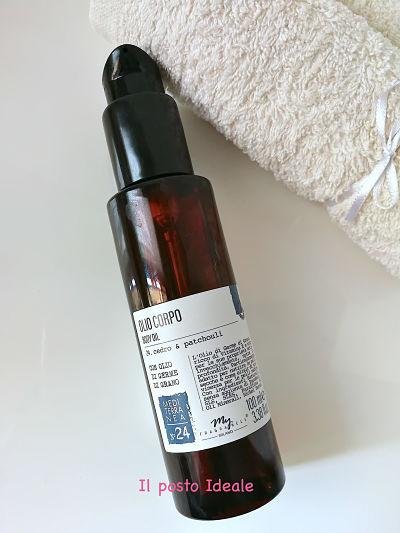 My Fragrances olio corpo germe di grano & patchouli